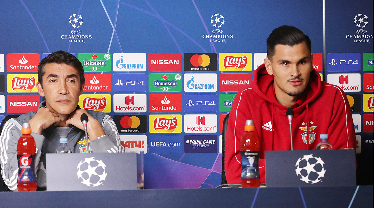 Zenit, Benfica, 2019 champions league, wire, soccer