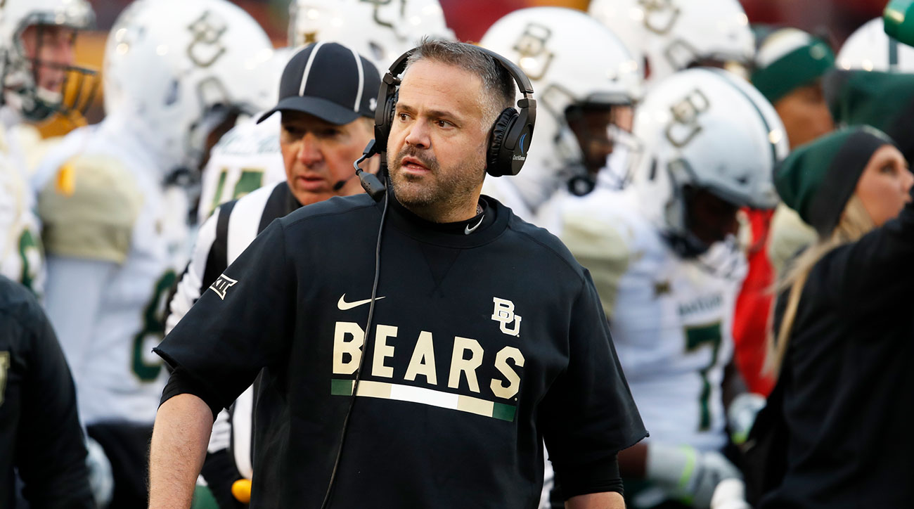 Baylor football Matt Rhule 2019 Bears