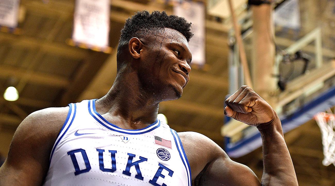 Duke Zion Williamson college basketball