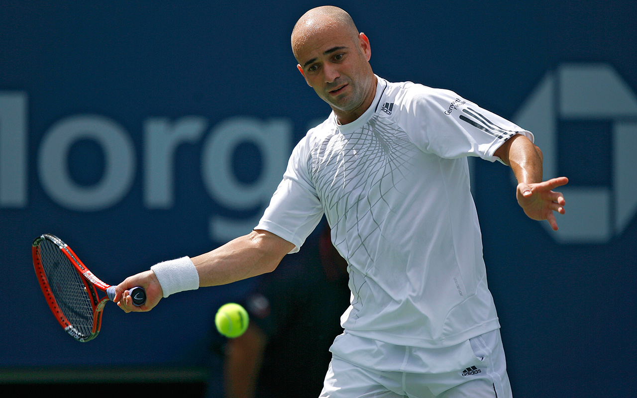 dbd13191b1 How Andre Agassi finally started to see the big picture | Vault