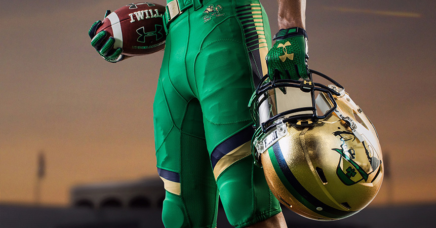 cc6fa096f Notre Dame s Shamrock Series jerseys a  no-brainer  to honor Irish-American  heritage of ND and Boston
