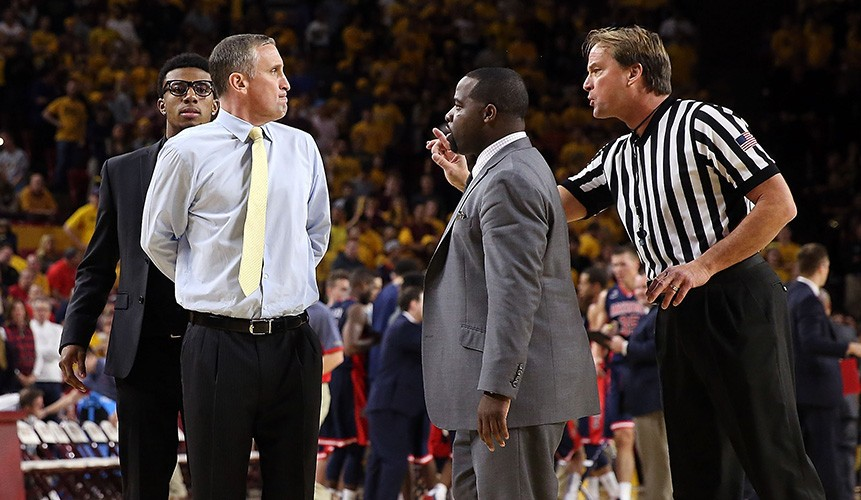 NCAA basketball's most recognized referee is well-traveled John