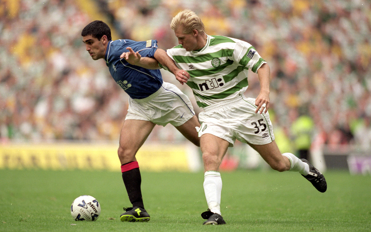 Old Firm  American Claudio Reyna experiences Celtic vs. Rangers  50f80f78d