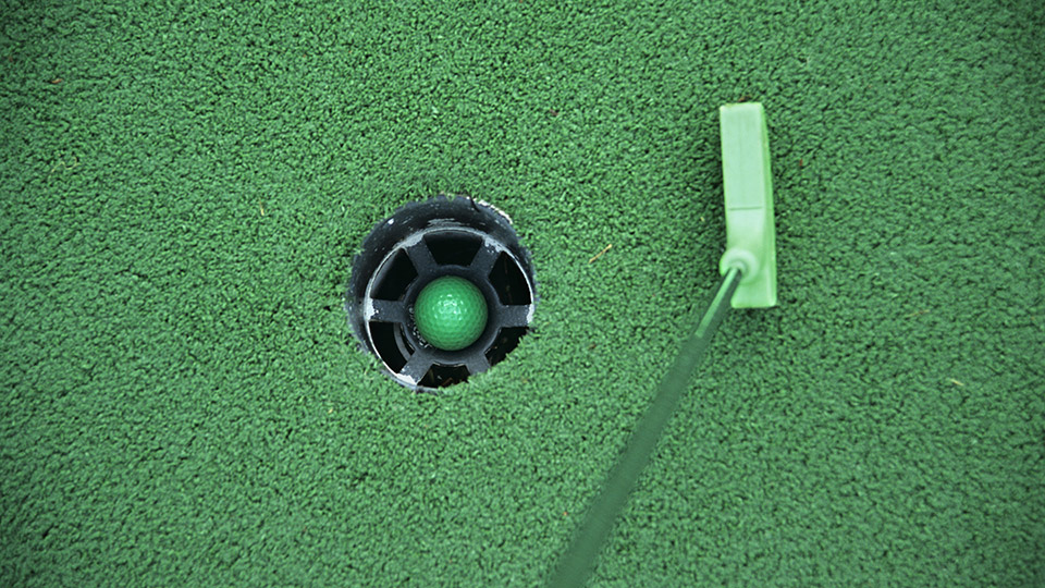Professional miniature golfers tackled a tougher-than-usual course in Pennsylvania last weekend.