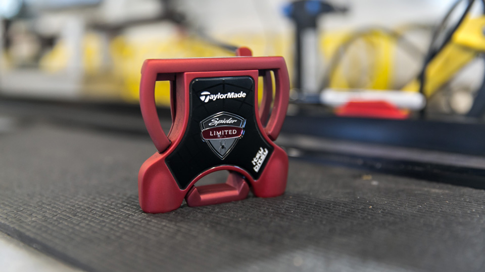 One of the new TaylorMade Spider Limited putters.