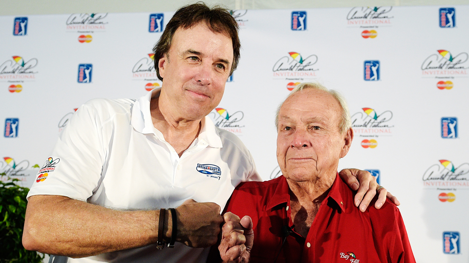 Comedian Kevin Nealon says he'd put Arnold Palmer in his dream foursome because, well, duh.