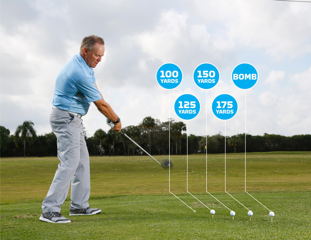 You can warm up your driver in just five swings by gradually increasing your swing speed and distance.