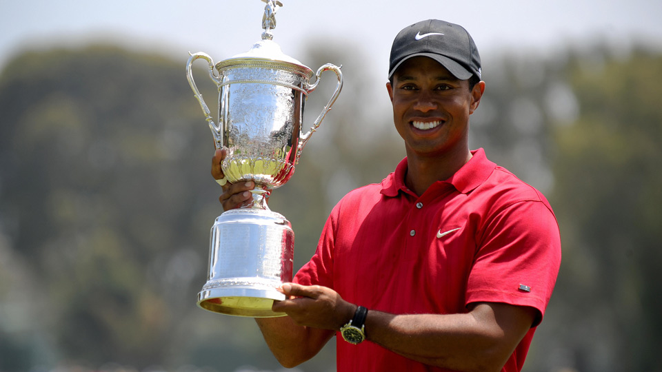 Tiger Woods last won the U.S. Open in 2008 at Torrey Pines.