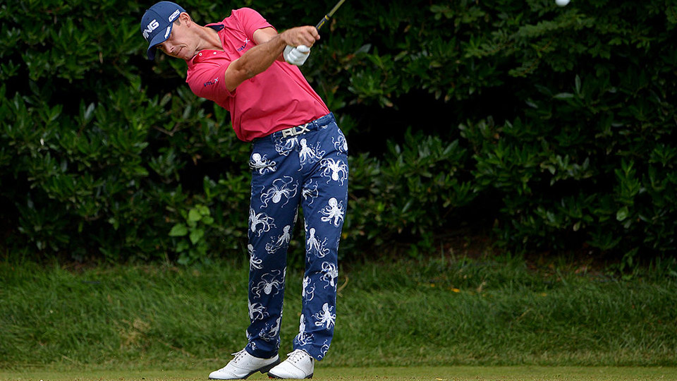 Billy Horschel, who wore octopus-patterned pants when he played in the 2013 U.S. Open, made ESPN's list of the most famous athletes in the world.
