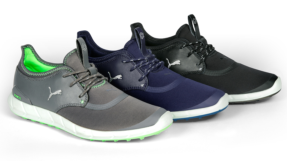 The IGNITE Spikeless Sport comes in three color combinations.