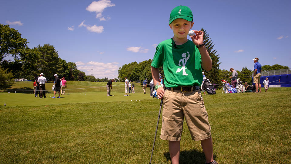 Ryan McGuire, a kindergartner who'd lost a classmate to cancer, made national headlines when he played 100 holes in one day on a par-3 course, raising $40,000 for pediatric cancer research along the way.
