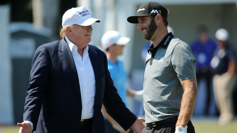 Donald Trump and Dustin Johnson had a rough go of it this week, one losing at the Memorial, the other losing his own tournament.
