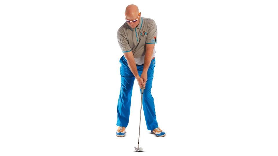 Push your left knee inward.