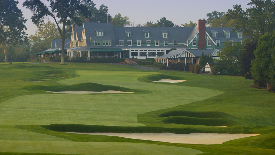 The par-4 18th is no slouch. It played as one of the most difficult during the 2007 U.S. Open.