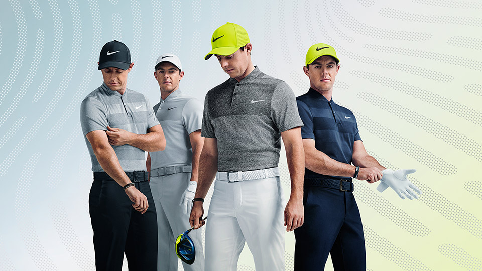 Rory McIlroy's Nike clothing for the 2016 U.S. Open.