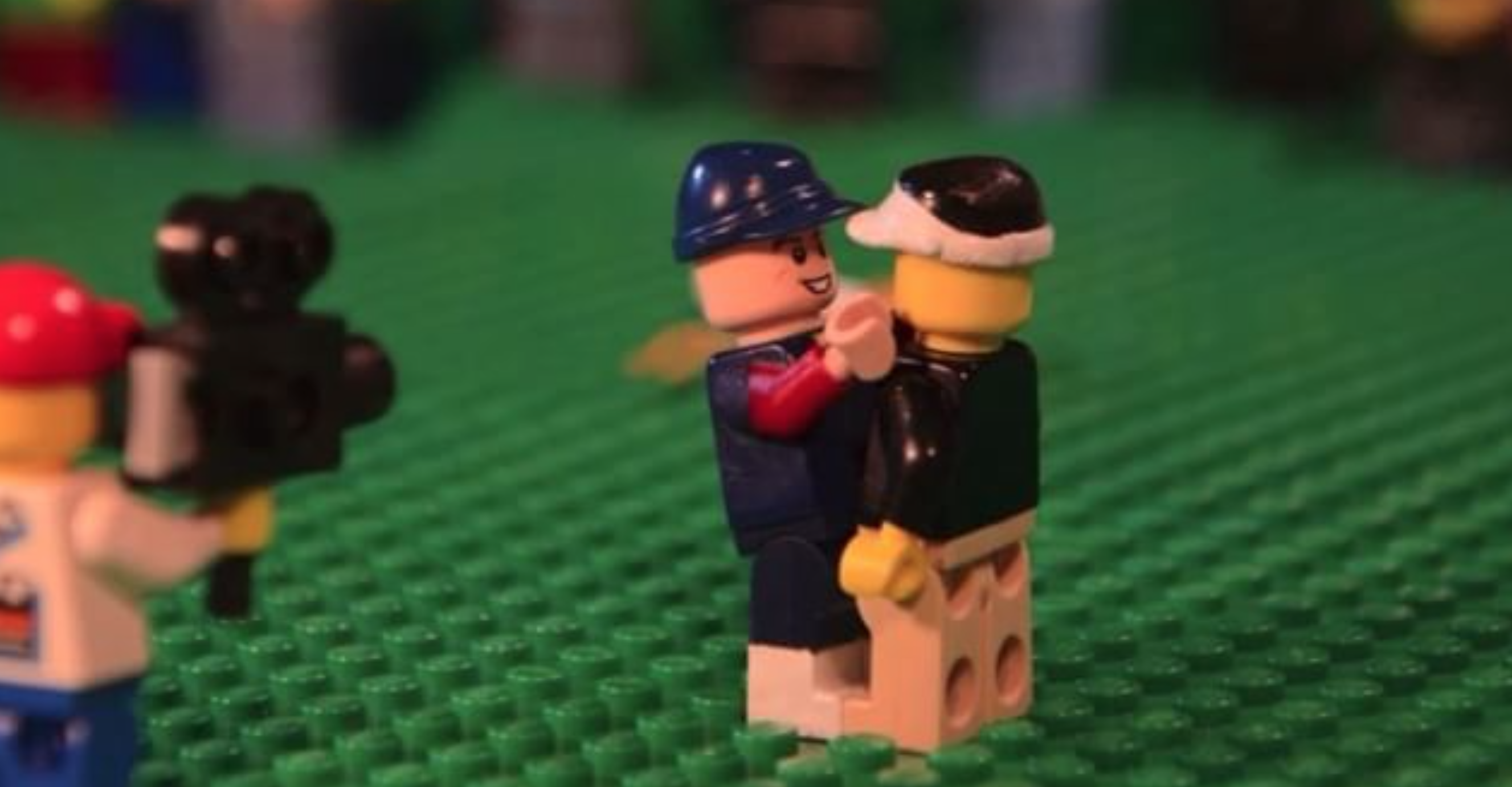 Jarod Jacobs makes stop-motion videos like this one by using Legos. Follow him on Twitter at @goldyeller.