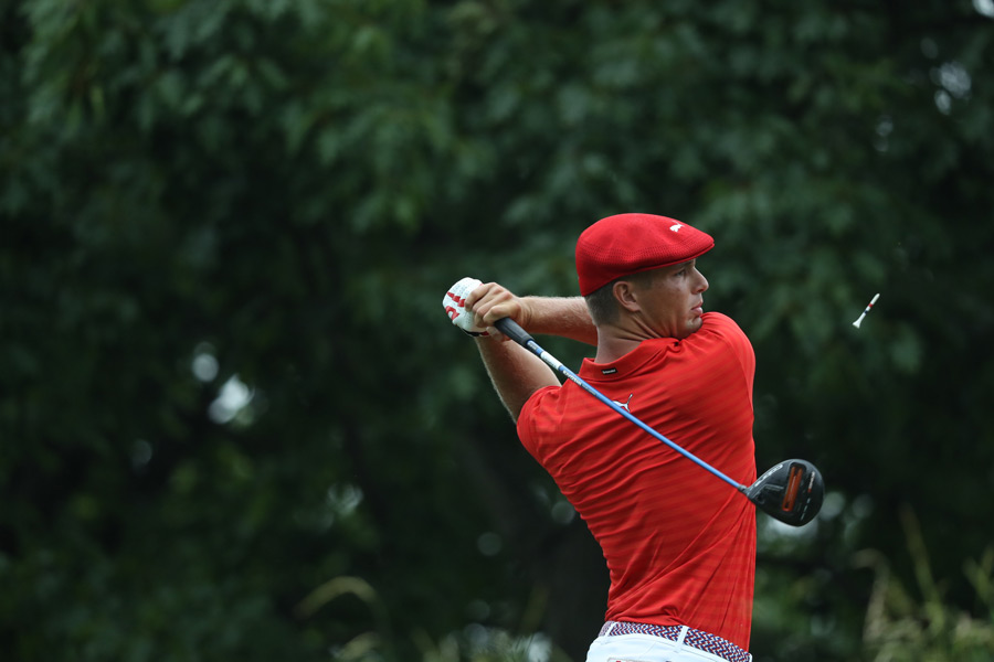 Bryson DeChambeau on Thursday during the first round.