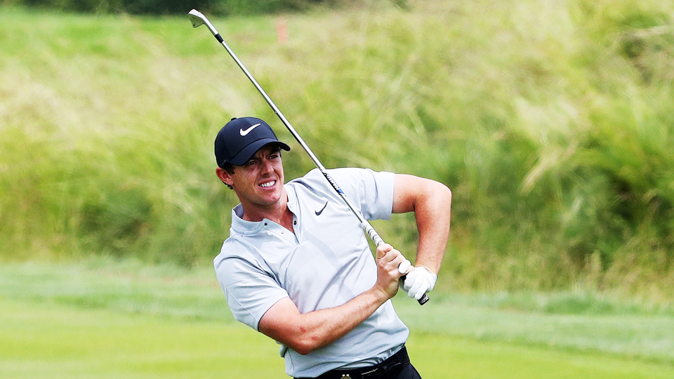 Rory McIlroy usually eats par-5s for breakfast, but not at Oakmont's villainous 12th hole.