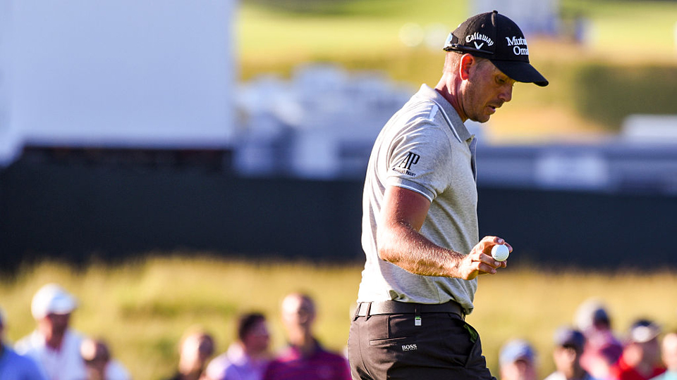 Henrik Stenson began his U.S. Open with a round in the 60s, but he withdrew before finishing his second round.