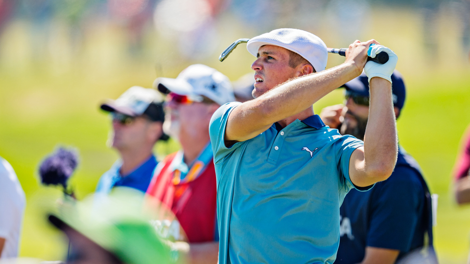 Bryson DeChambeau finished his third round with a score of 70 despite making seven birdies.