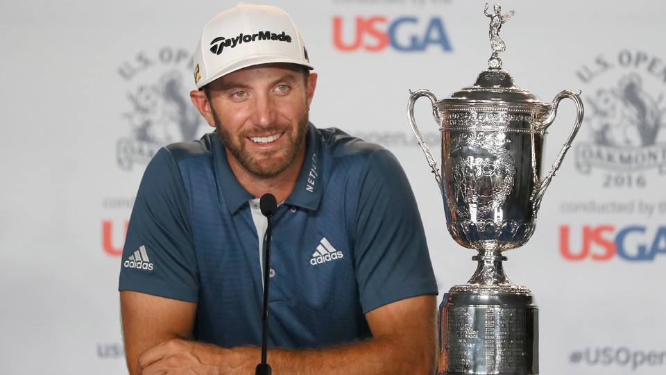 A late penalty stroke given to Dustin Johnson never got in the way of his first major win.