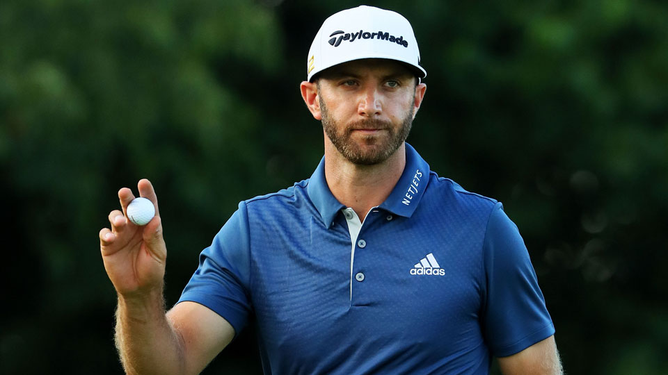 On the strength of his victory at the U.S. Open, Dustin Johnson rose to third in the Official World Golf Ranking.