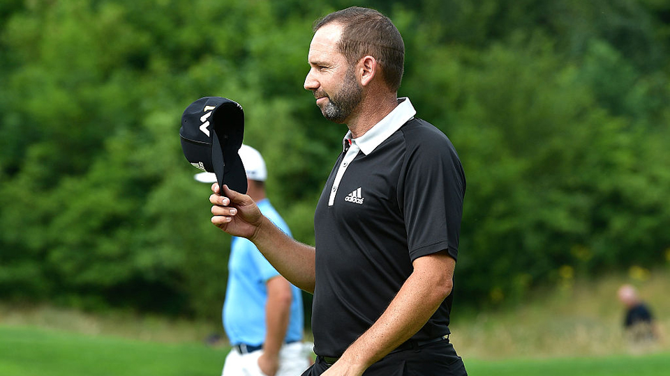 Sergio Garcia made an ace on the 157-yard 11th hole Friday at the BMW International Open.