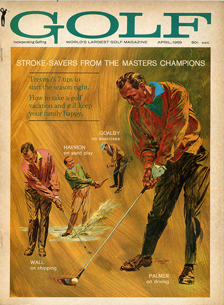 Arnold Palmer, GOLF Magazine, April 1969