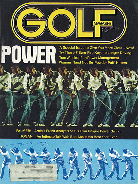 Arnold Palmer, GOLF Magazine, August 1975