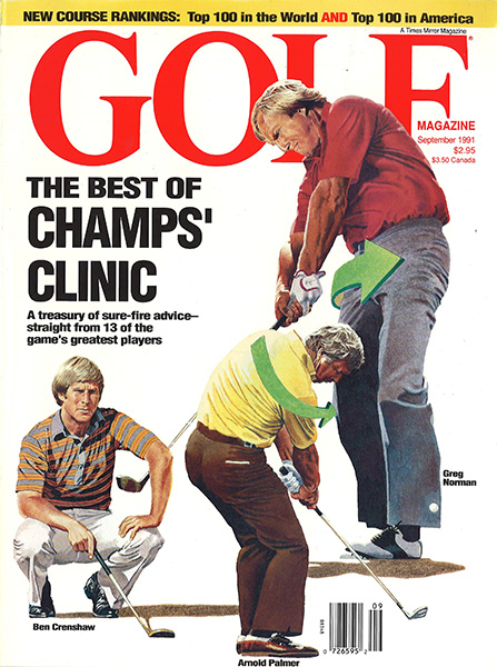 Arnold Palmer, GOLF Magazine, September 1991