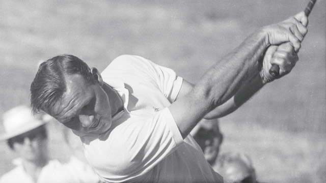 Arnold Palmer during the 1960 U.S. Open at Cherry Hills.