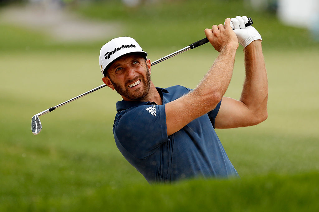 Dustin Johnson is chasing his second consecutive victory at the WGC-Bridgestone Invitational.