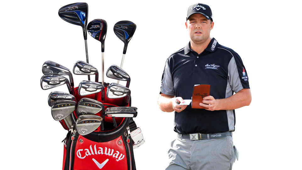 The Aussie Marc Leishman gets big-time distance from his Callaways.