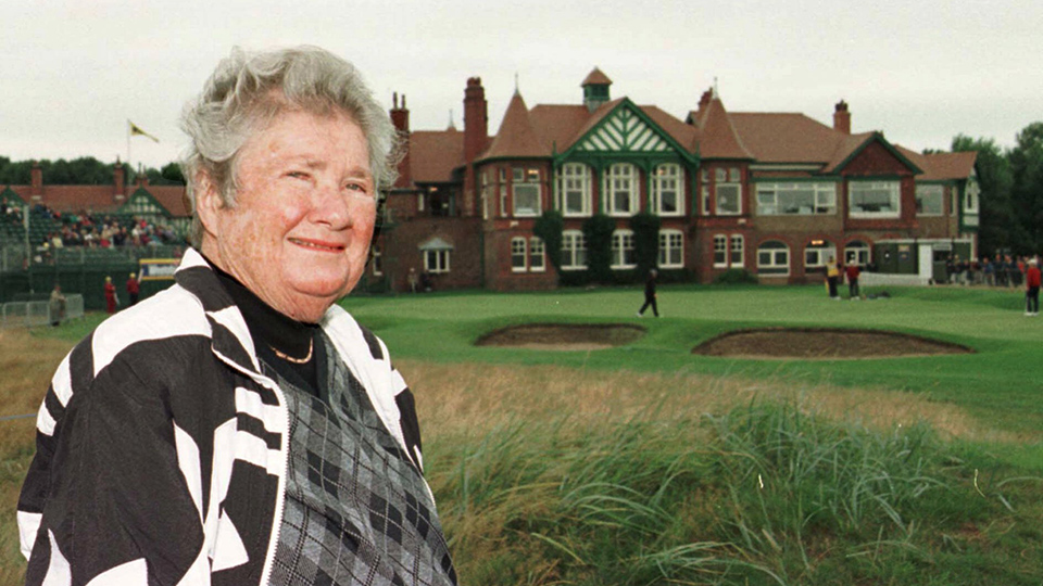 Louise Suggs in 1998, at Royal Lytham & Saint Annes.