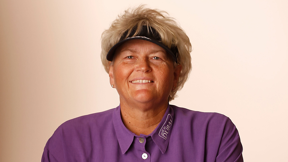 Laura Davies in 2015, shortly after she became a Dame.