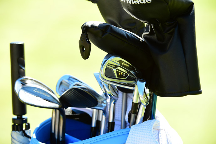 Anna Nordqvist carries a full bag of TaylorMade gear including Psi irons and Tour Preferred EF wedges.