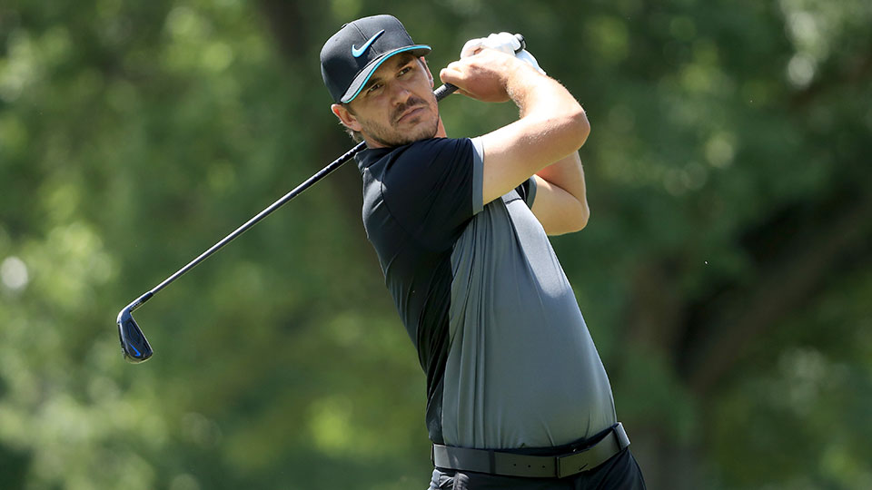 Brooks Koepka announced his withdrawal from the British Open on Twitter Saturday morning.