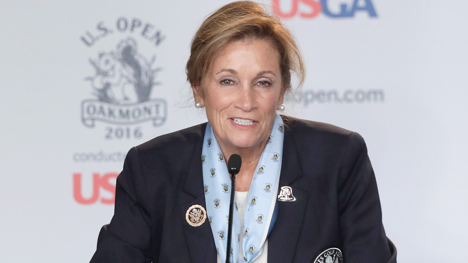 USGA president Diana Murphy apologized for her blunder following Sunday's finish to the U.S. Women's Open.