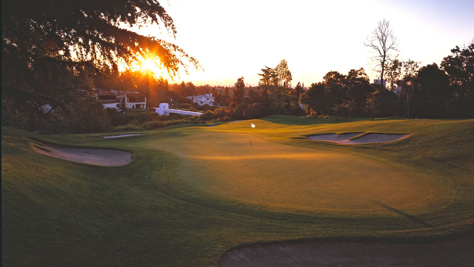 The 10th green at Bel-Air Country Club.