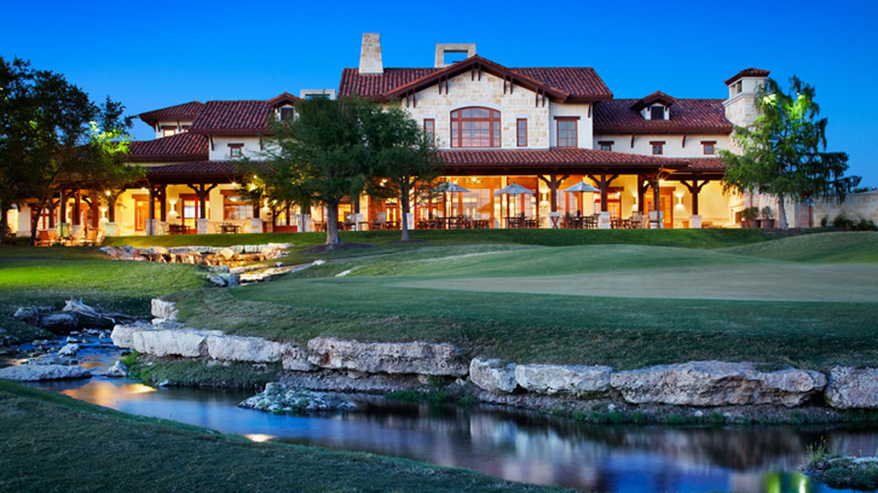 The UT men's and women's teams play at the private University of Texas Golf Club.