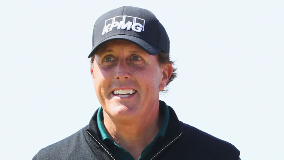 Phil Mickelson is off to a hot start at Royal Troon.