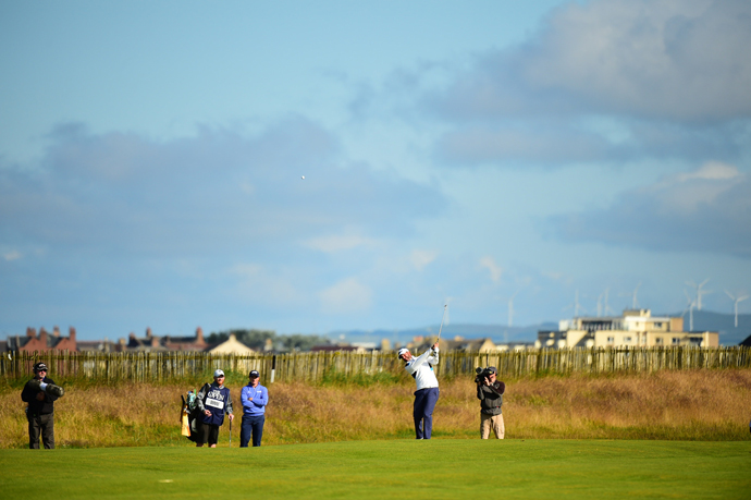 Scott Piercy Thursday at Royal Troon.