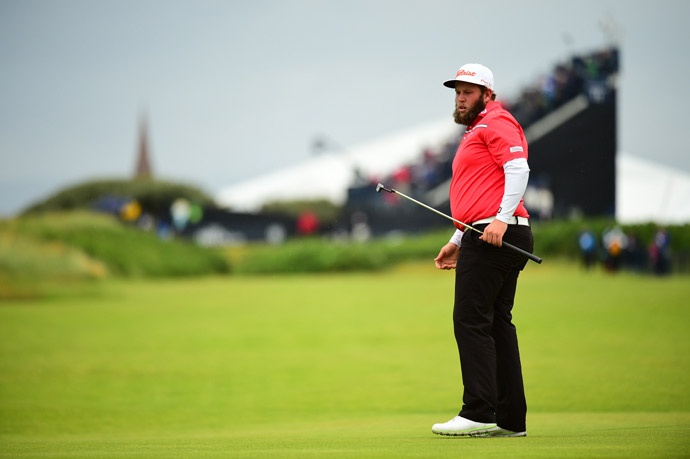 A man named Beef gained a lot more fans at the British Open.