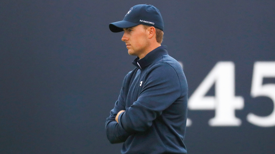 After his Saturday round at the Open, Jordan Spieth said the negative attention he gets is unfair.