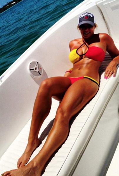Jon Rahm's girlfriend, Kelley Cahill photos