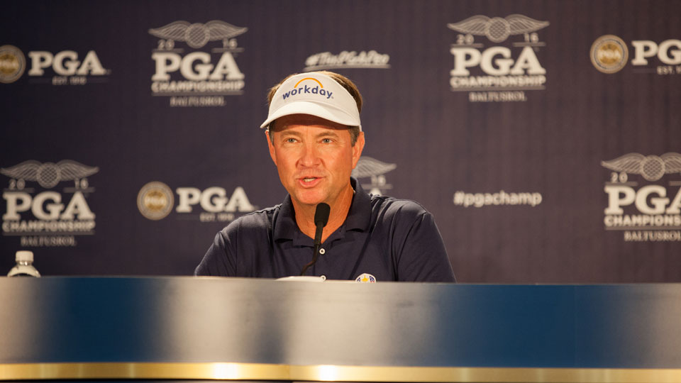 Davis Love III also captained the losing 2012 U.S. Ryder Cup team.