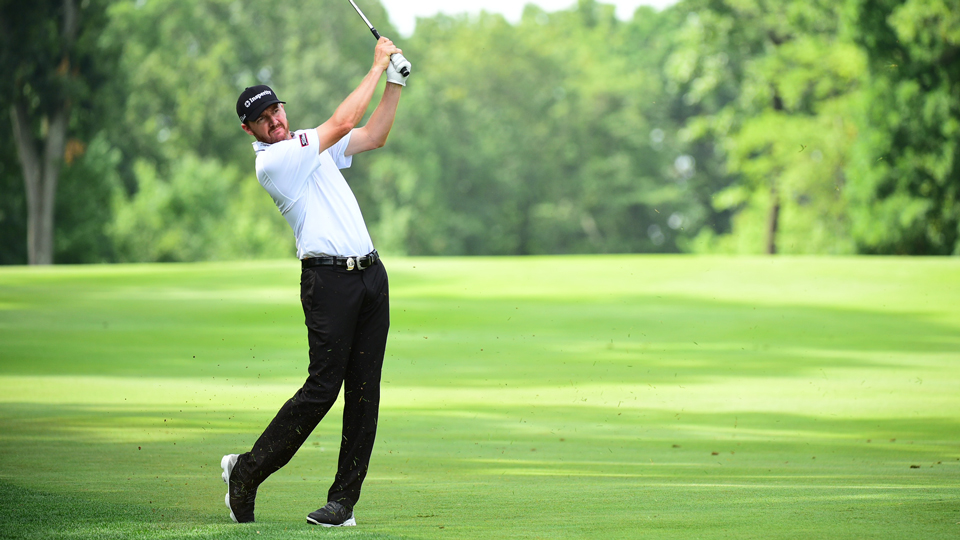 Jimmy Walker took just 25 putts Thursday at the PGA Championship, making six birdies during his first round.