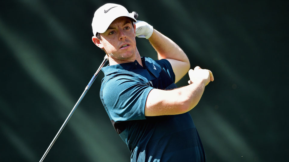 Rory McIlroy struggled to an opening-round 74 at Baltusrol on Thursday.