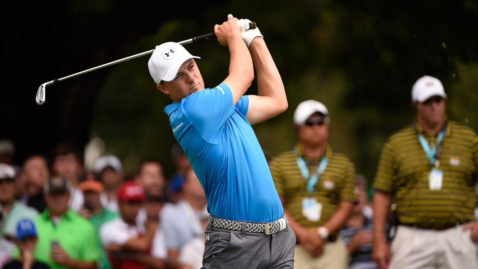 Jordan Spieth became the latest star of the game to be questioned tirelessly about a ruling during a major championship.