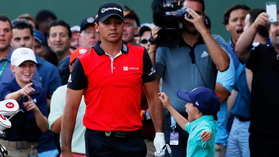 This might be Jason Day's biggest fan.